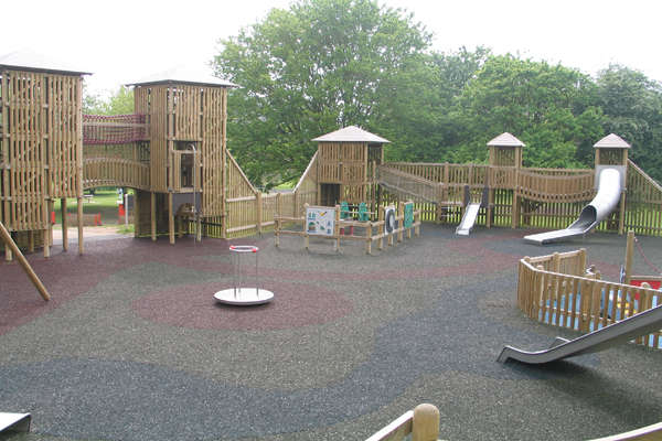 Themed Play Area at Cobtree Manor Park